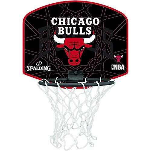 Spalding Tablero de baloncesto pequeño diseño de Chicago Bulls