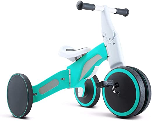GSDZSY - Triciclo para niños Bicicleta sin Pedales en 2 EN 1 ...