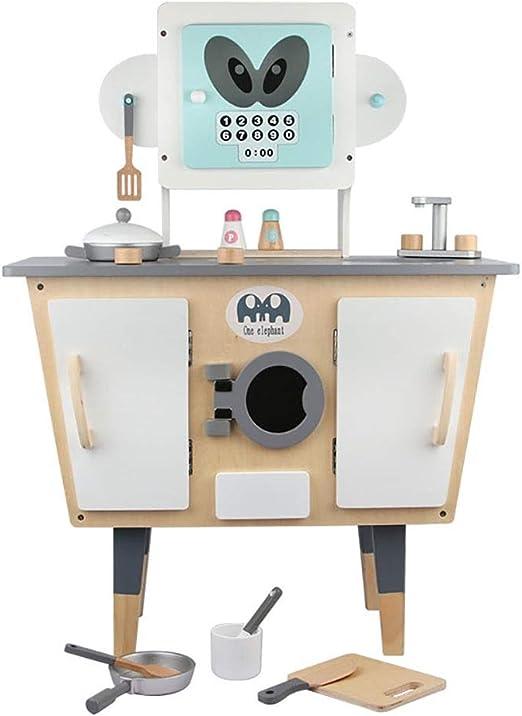 Cocinita de juguete con accesorios de Madera Modelado robot de ...