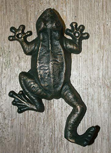 Vintage Antique Hooks Cast Iron Antique Style Nautical Frog Coat Hooks Hat Hook Rack Towel Sea Toad