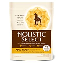 Holistic Select Duck Natural Dry Dog Food, 6-Pound Bag