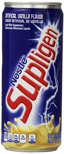 Supligen Vanilla Energy Drink, 9.8 Ounce (Pack of 6)