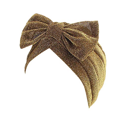 Dressin_Hat Women Fashion Muslim Flower Hat Retro Turban Hat Scarf Wrap Cap Hat ()