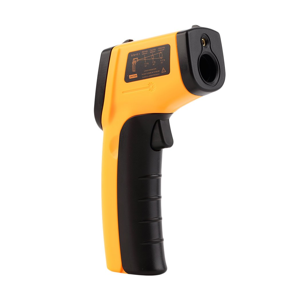 GAEA Non-contact LCD Laser Infrared Digital Temperature Gun -50~380℃(-58~716℉), Instant-read Handheld IR Infrared Thermometer with Backlight by GAEA (Image #4)