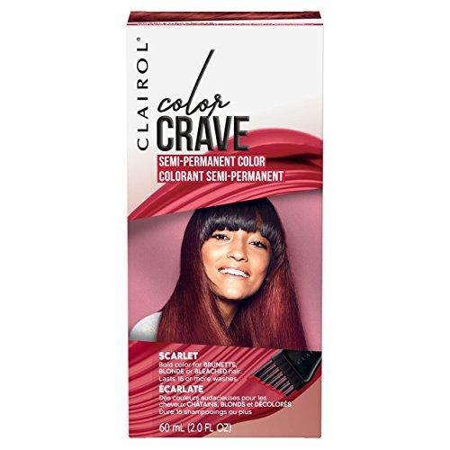 Clairol Crave Semi-permanent Hair Color, Scarlet