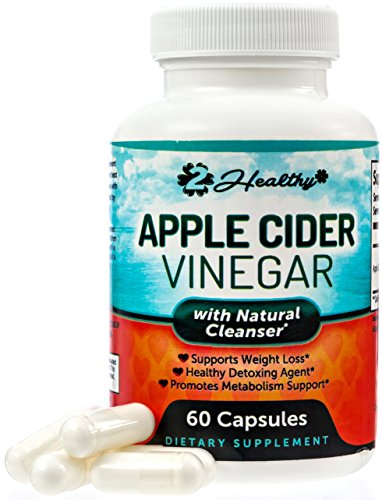 Premium Apple Cider Vinegar Pills - Natural Keto Diet Appetite Suppressant, Weight Loss Management, Liver Detox Cleanse, Digestion & Circulation Support - Powerful 1250mg Capsules