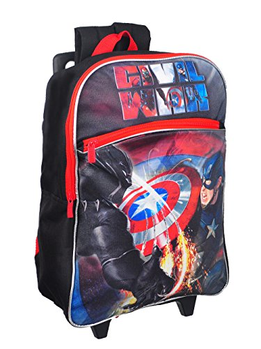 Avengers Rolling Backpack - red/multi, one size
