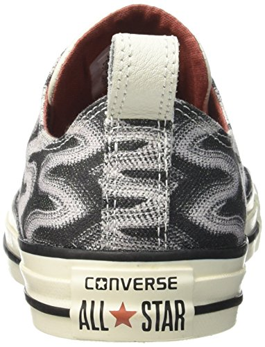 Converse Womens Chuck Taylor All Star Missoni Sneakers Nero / Rame / Garzetta