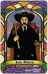 San Simon Maximon St Simon Bilingual Prayer Card