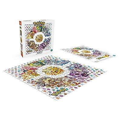 Buffalo Games - Pokémon - Kanto Edition - 300 Large Piece Jigsaw Puzzle: Toys & Games