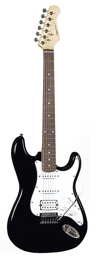 Guitarra eléctrica con palanca mod. Stratocaster ROLING S-Black: Amazon.es: Instrumentos musicales