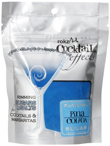 Rokz Design Group Cocktail Sugar, Pina Colada, 5 Ounce (Colada Alcohol Pina)