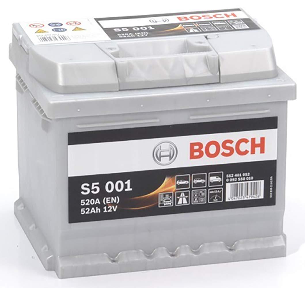 Bosch-S5001 Batteria Silver Auto 52A/h-520A BOSCH BATTERIE 552401052