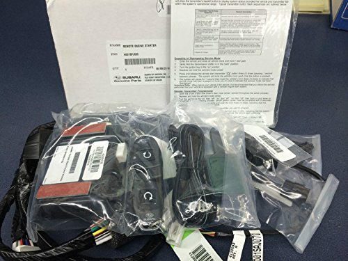 2014-2016 Subaru Impreza 4-Door & 5-Door Crosstrek Remote Engine Starter OEM GENUINE - Remote Starter Install Engine