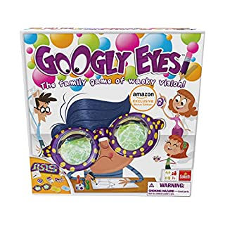Goliath Amazon Exclusive Bonus Edition Googly Eyes - Includes Color Smash Card Game!