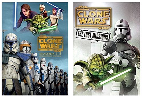 Star Wars:The Clone Wars Season1-6 Complete Series1-5 +Season 6 Lost Mission DVD by DIMPIT