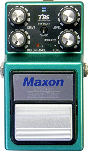 Maxon Nine Series ST-9 Pro+ Super Tube Pro+ Guitar Distortion Effects Pedal