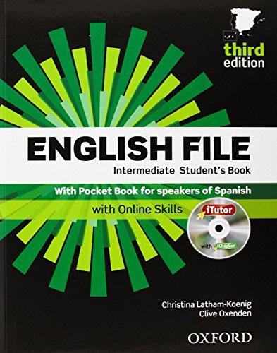 English File. Intermediate Student's Book + Workbook  + Entry Checker