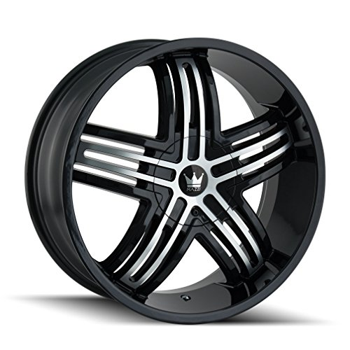 Mazzi ENTICE 368 Gloss Black/Machined Face Wheel with Machined Finish (22x9.5