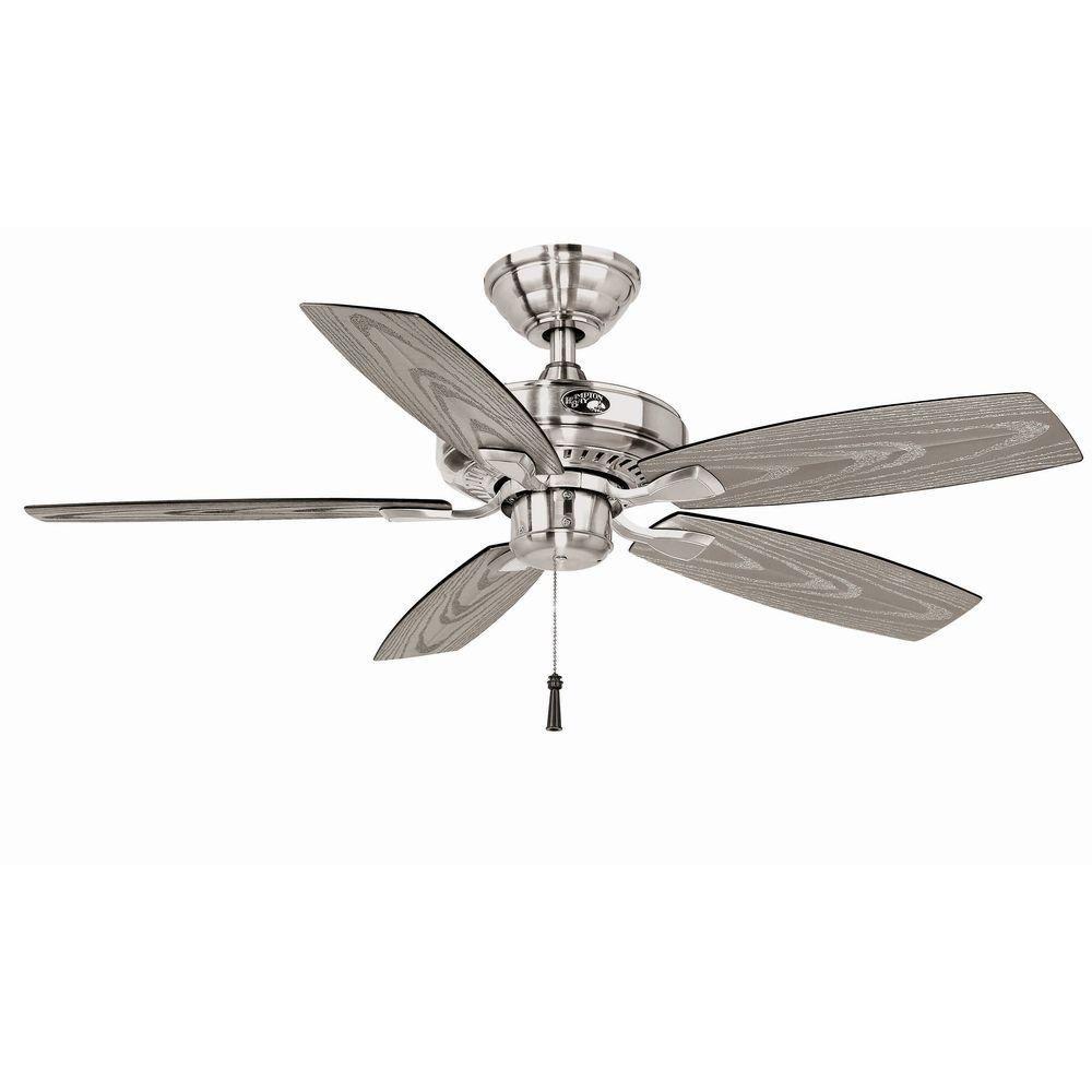 Hampton bay 42 in gazebo ii outdoor fan brushed nickel finish hampton bay 42 in gazebo ii outdoor fan brushed nickel finish yg187 bn ceiling fans amazon aloadofball Choice Image
