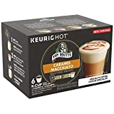 Van Houtte Specialty Collection Caramel Macchiato Single Serve Keurig Certified K-Cup pods for Keurig brewers, 6 Count