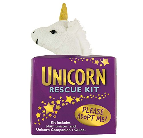 Unicorn Rescue Adoption Kit Plush Stuffie Gift