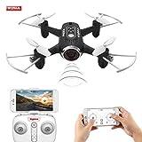 Toyshine Syma FPV WiFi 0.3 MP Camera Drone, APP Control, Headless Mode, Altitude Hold, Flip Stunts - Black