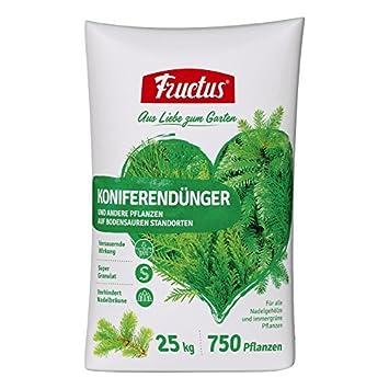 Fructus Fertilizantes Para Coníferas - 25 kg