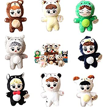 Amazon.com: VogueMing Kpop EXO - Muñeca de peluche, 5.9 in ...