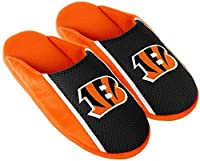 Cincinnati Bengals NFL Mens Jersey Slide Slipper Adult Sizes