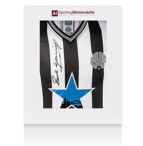 Paul Gascoigne Signed Jersey - Shirt Newcastle Gift Box -...