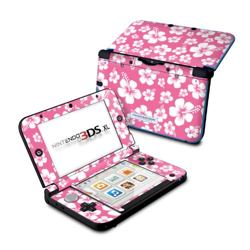 - Aloha Pink - DecalGirl Sticker Wrap Skin Compatible with Nintendo Original 3DS XL