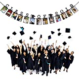 Lomsarsh Child Graduation Gift Decorations Class of 2019 Photo Banner Wall Party Decorat