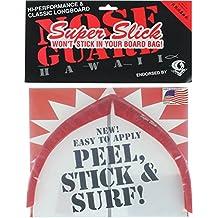 Surfco Longboard Super Slick Nose Guard Kit-Black