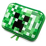 Green EVA Pencil Case Cool Pen Organizer Box Cute School Supplies Bag with Zipper for Teen Girls Boys Kids