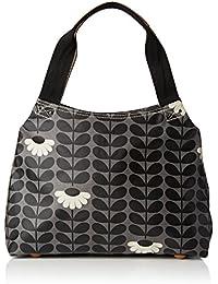 Wild Daisy Print Classic Zip Shoulder Bag