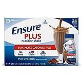 Ensure Plus Creamy Milk Chocolate Shake (8 oz. bottle, 24 pk.) (pack of 6)
