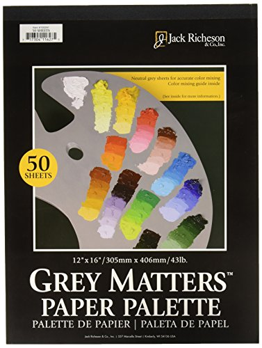 jack-richeson-grey-matters-paper-palette-12-by-16-inch-50-sheets