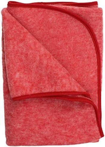 Cosilana, Kinder/Baby Decke Fleece, 80x100 cm, 60% Wolle (kbT), 40% Baumwolle (KBA)