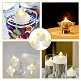24 Pack Waterproof Led Floating Candles, Flickering