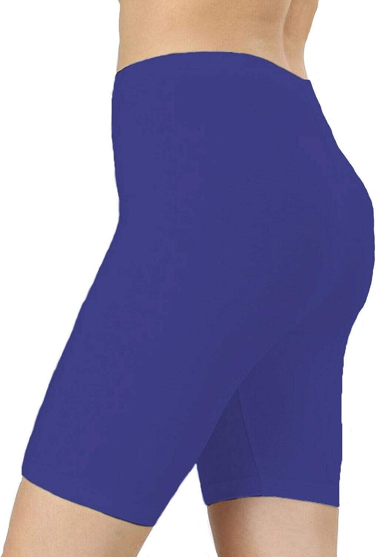 RSVH Pantalones cortos de ciclismo de nailon y licra para ni/ñas