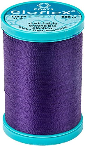 (Coats Eloflex Stretch Thread 225yd-purple)