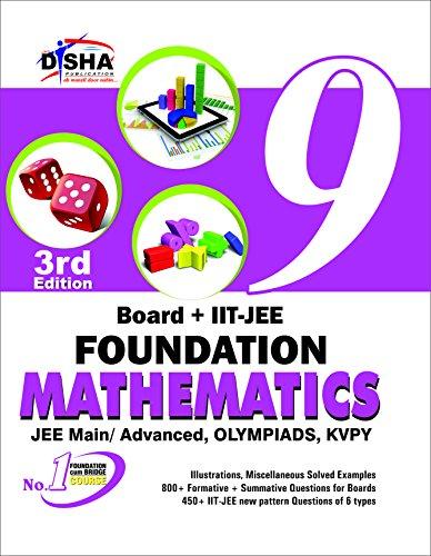 New pattern Class 9 Board + IIT-JEE Foundation MATHEMATICS 3rd edition