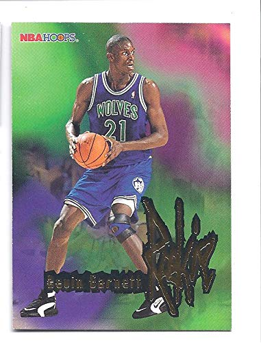 31d721a29b62 KEVIN GARNETT 1995-96 Hoops  272 Rookie Card RC Minnesota Timberwolves  Basketball