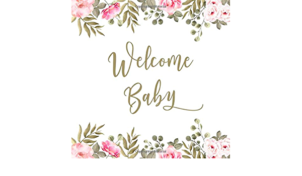 Arrival Brunch Digital file \u2013 Print at home Baby Shower New Baby Notes for New Parents Game Floral Watercolour Cards