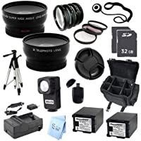 ULTRA PRO ACCESSORY PACKAGE: for Canon VIXIA HG20 Hard Disk Drive HD Camcorder