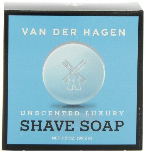 UPC 893164000531, Van Der Hagen Men's Luxury, Unscented Soap, 3.5 Ounce (Pack of 3)