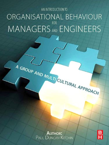An Introduction to Organisational Behaviour for Managers and Engineers Pdf