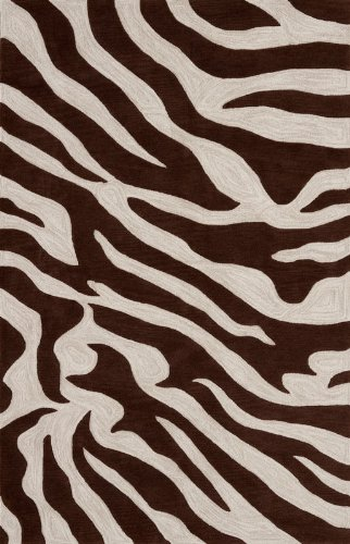 animal print throw rugs australia zebra rug modern stripe area ivory brown carpet exact size living room