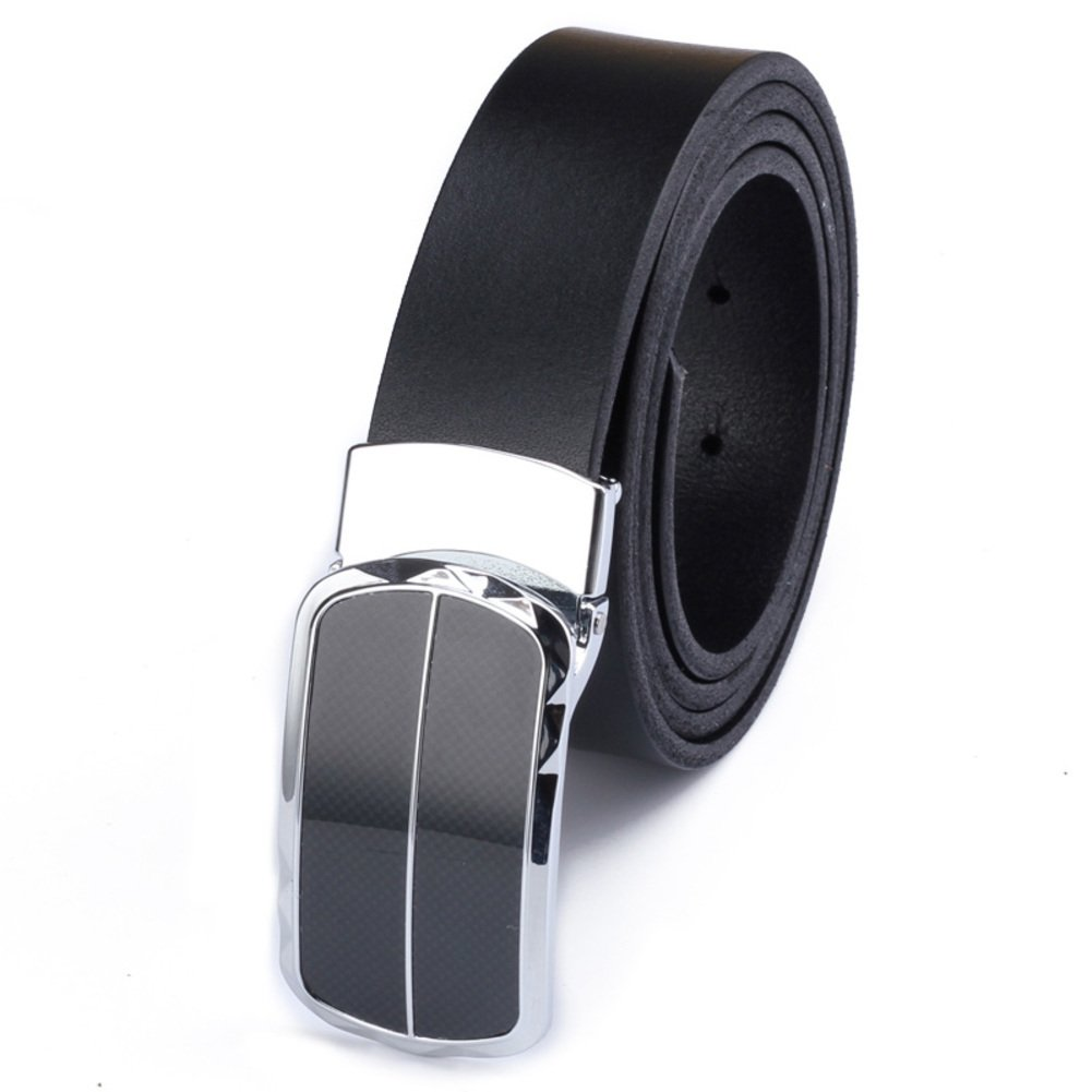 Men Smooth Buckle Belts Business Casual Belts